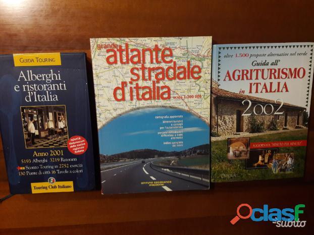 Guide italiane + Mappa stradale Italia