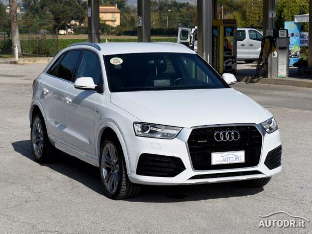 Audi q3 2.0 tdi quattro 2x s-line s-tronic cerchi 19 full