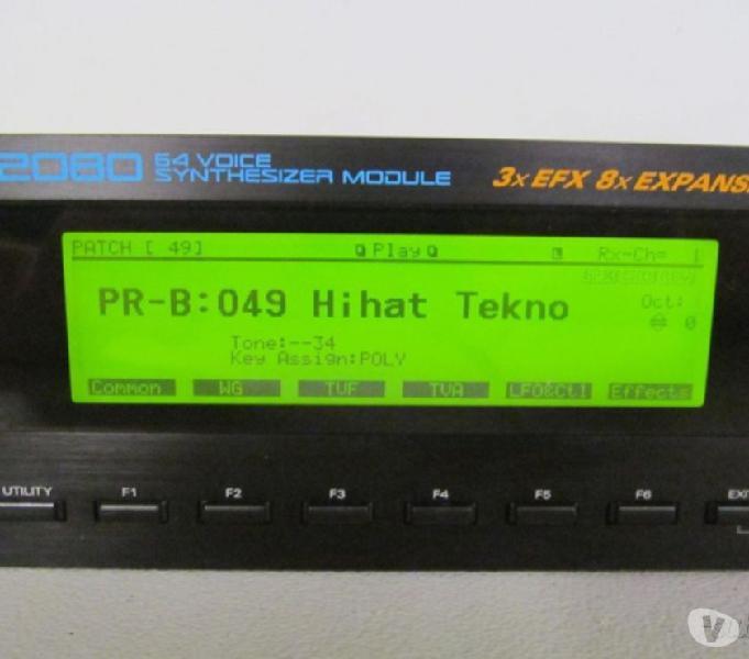Roland jv2080 + xv2020 + korg m1rm1rex + card