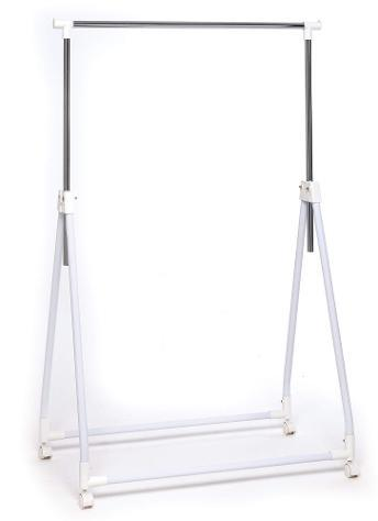 Stender appendiabiti pieghevole in metallo 90x54x95/170 cm