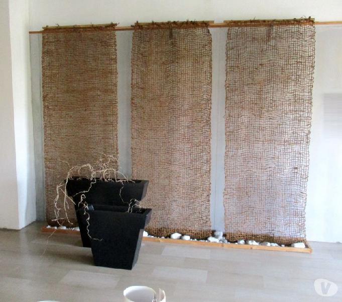 Tende gt design realizzate in cocco naturale lantero shop