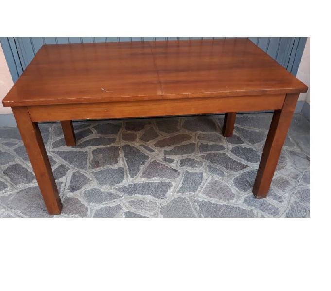 Tavolo legno 80 x 140-180