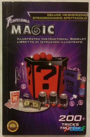 Libretto di istruzioni illustrato con 200 trucchi di prestigio deluxe mesmerizing ed.fantasma 2009