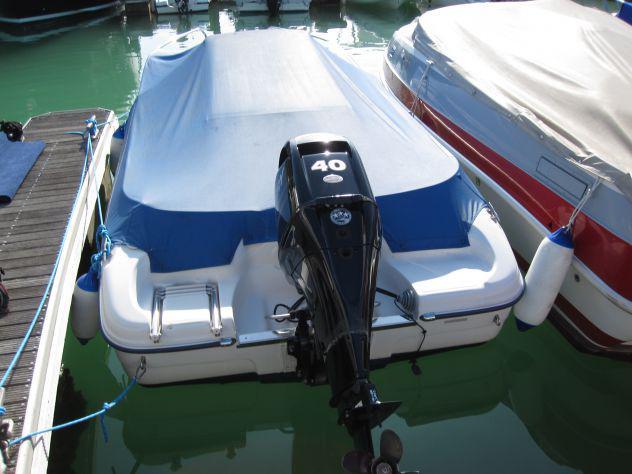 Barca open ranieri voyager 17