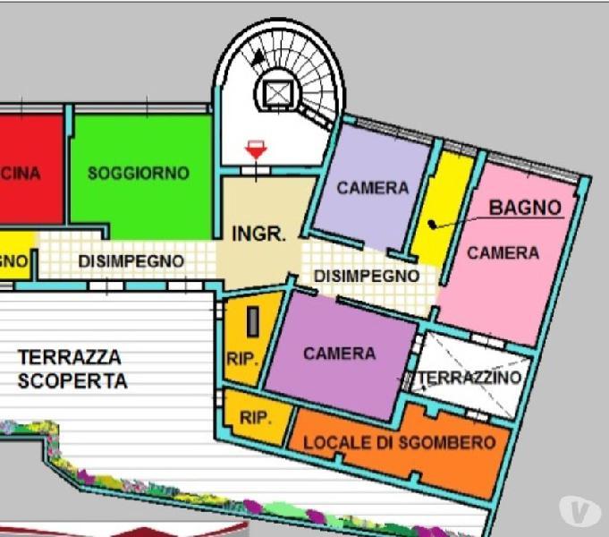 Attico Ampio Terrazzo Box Affaires Gennaio Clasf