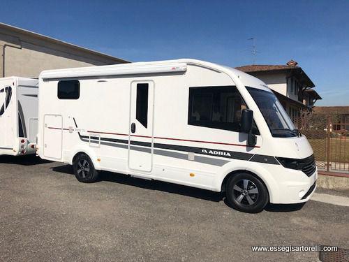 Adria new sonic 600 sl gemelli 2017 garage 699 cm 150 cv