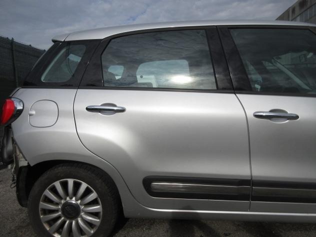 Porta posteriore dx fiat 500 l del 2013
