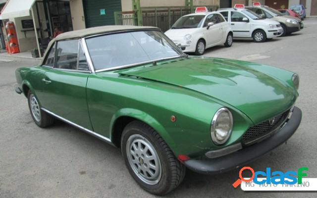 Fiat 124 spider in vendita a serradifalco (caltanissetta)