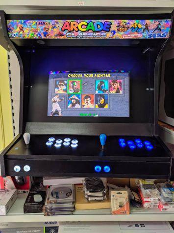 Bartop arcade robustissimi retro gaming stile americano anni