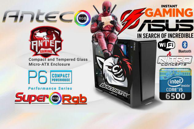 "Computer gaming ""antec"" super rgb"