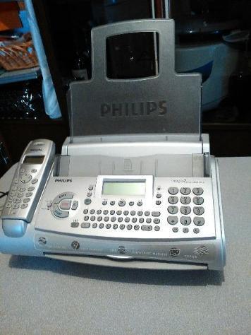 Fax con 1 telefono usato