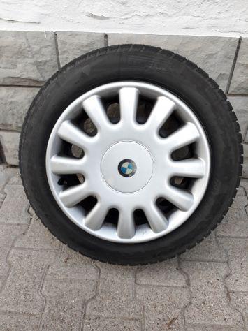 Gomme pirelli invernali 205/55r16 con cerchi bmw e90