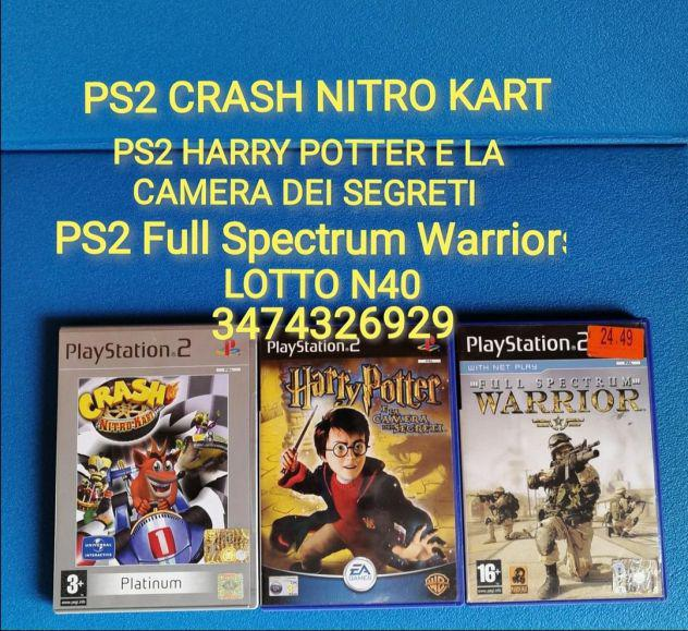 Ps2 crash nitro kart ps2 harry potter