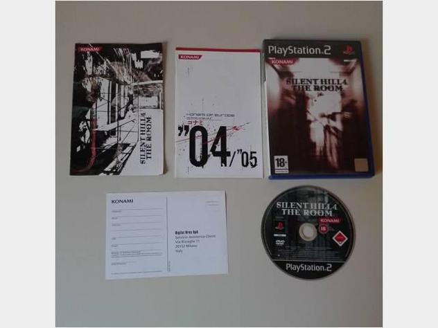 Silent hill 4 the room sony ps2 playstation 2 pal usato