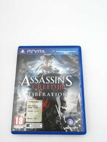 Video gioco ps vita assassin's creed iii liberation