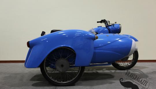 Rara mz 1959 es175 175cc con sidecar duna viterbo