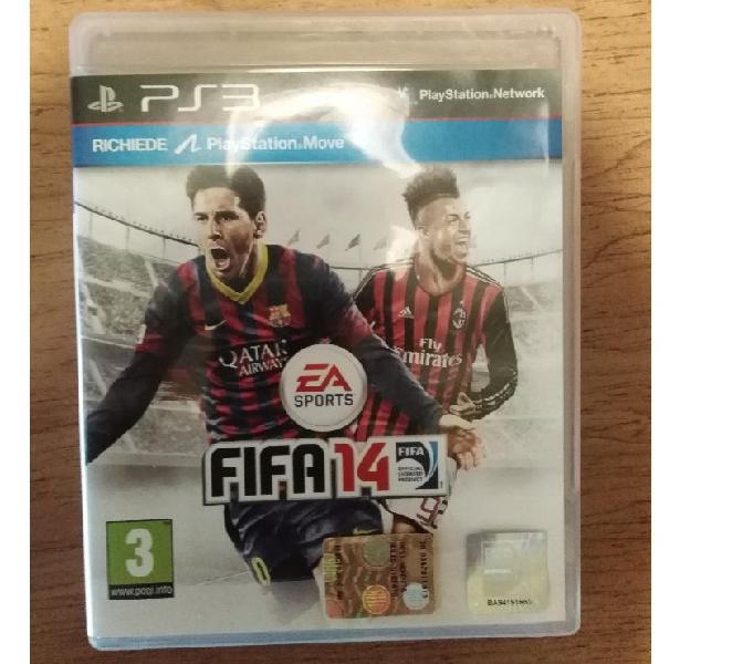 Videogioco sony ps3 playstation 3 fifa14 fifa2014 calcio gam