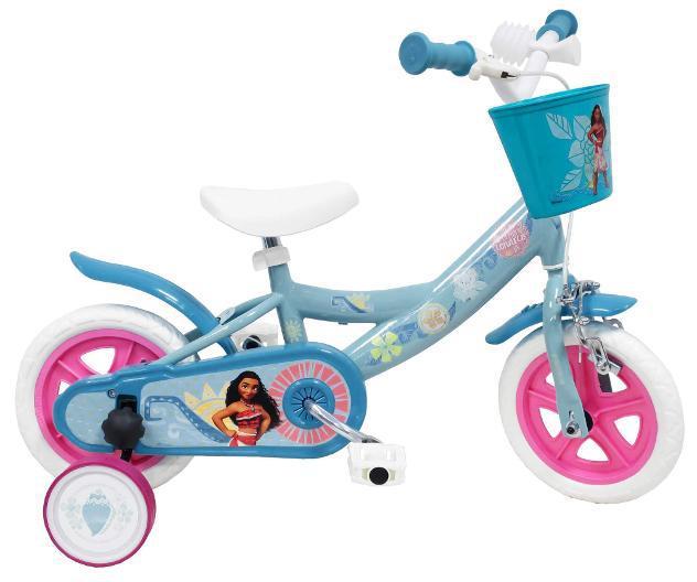 """Bicicletta per bambina 10"""" eva 1 freno disney oceania vaiana"""