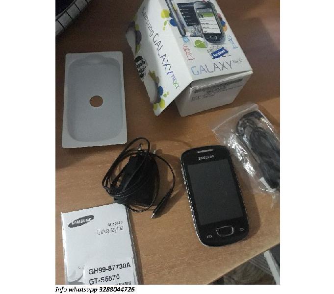 Cellulare samsung galaxy nexy gt s5570 nero con accessori