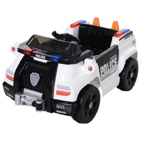 Macchina elettrica polizia per bambini 6v benzoni police