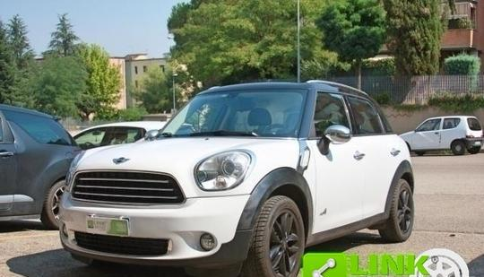 Mini countryman cooper d all4 09/2010 4x4 trazione integrale