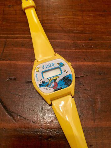 Orologio Puffi anni 70 Originale