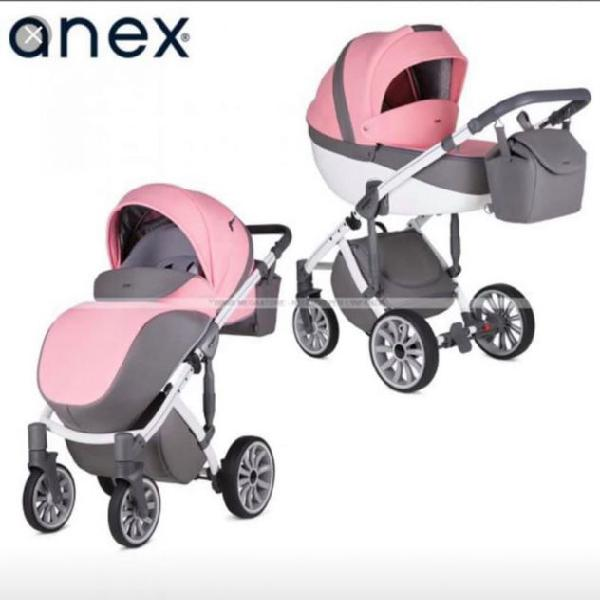 Trio passeggino completo Anex