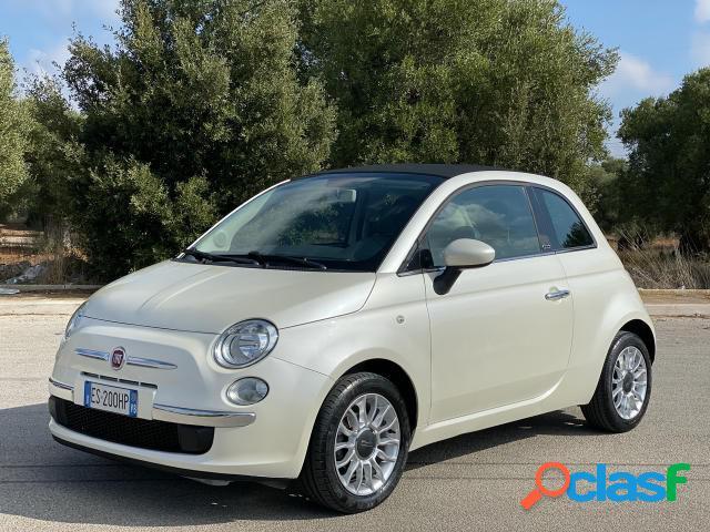 Fiat 500 cabrio benzina in vendita a san vito dei normanni (brindisi)