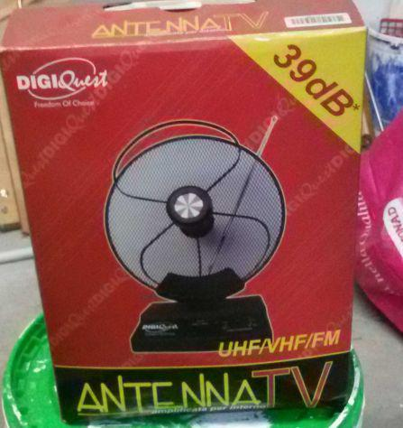 ANTENNA TV 39 DB PORTATILE