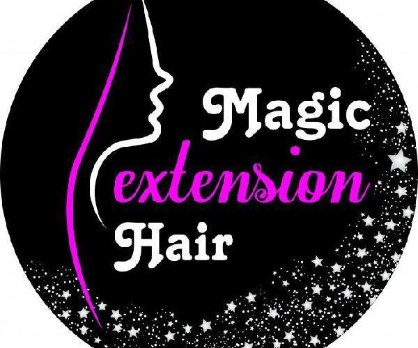 Applicazione extension con capelli naturali