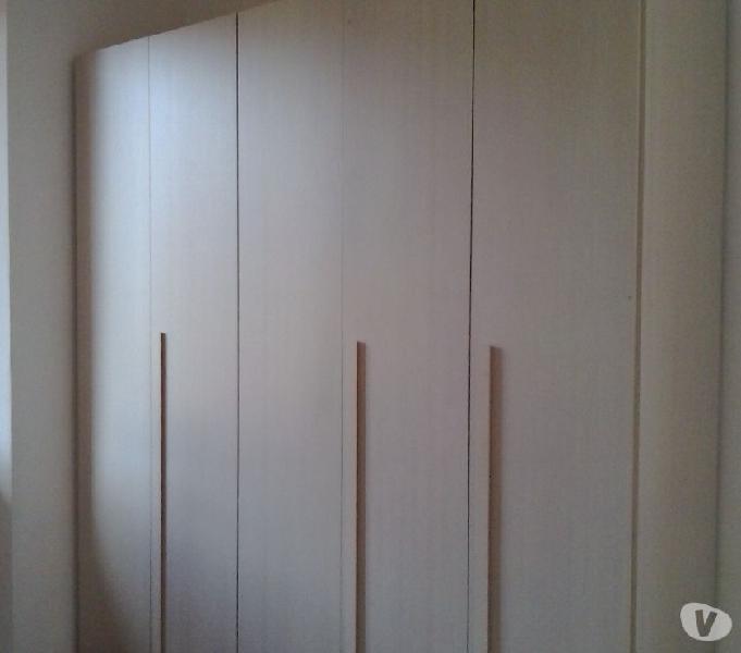 a Colonna armadietto in Metallo scaffali Rosso Armadietto Metallico con Due Ante Sep Home 1 Anta