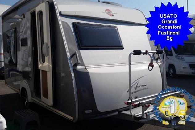 Burstner 410 ts averso plus caravan usata 2+1 - 2010 rif.