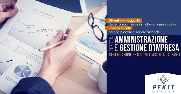 CORSO PROFESSIONALE DI AMMINISTRAZIONE E GESTIONE AZIENDALE