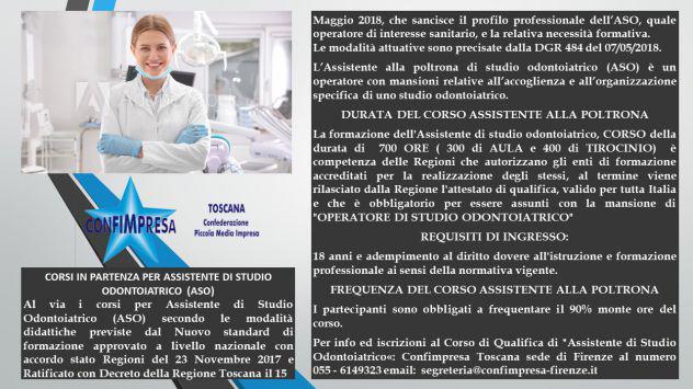 Corso per Assistente di Studio Odontoiatrico (ASO)
