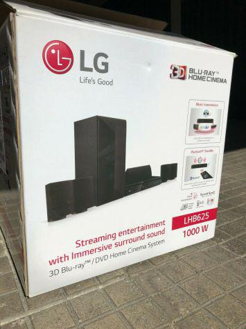 Lg home th 3d audio 5.1 dolby 1000w subw blu-ray smart tv