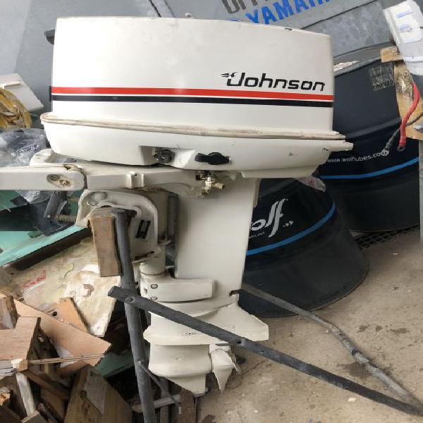 Motore fuoribordo vintage anni 80 hp 25 marca: johnson