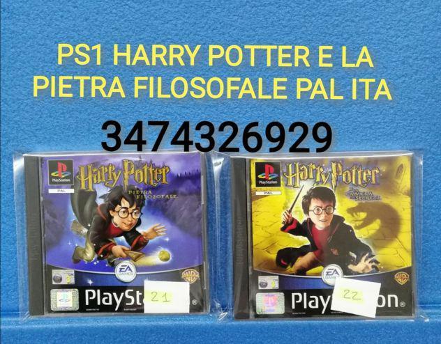 Ps1 harry potter e la pietra filosofale pal ita