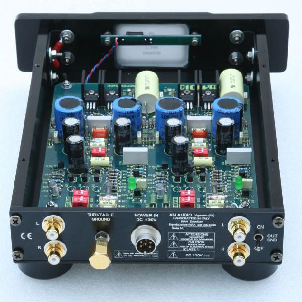 Unità phono am audio - mm 02 + alimentatore originale