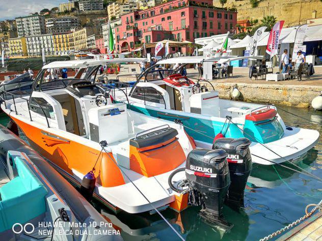 Barca cabinato fisherman alchimia 28 lineasse- fb