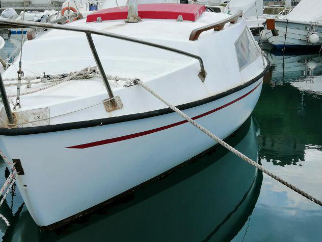 Barca a vela 5 metri