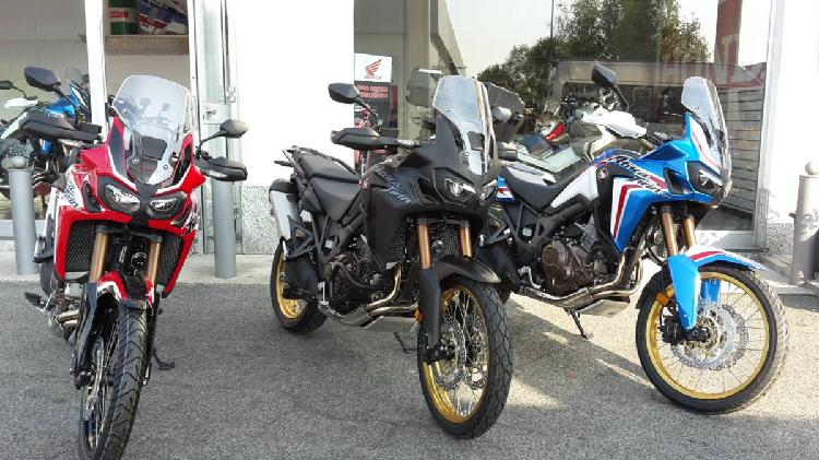 Honda africa twin dct (2018 - 19) nuova a none