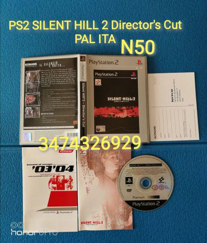 Ps2 silent hill 2 director's cut pal ita