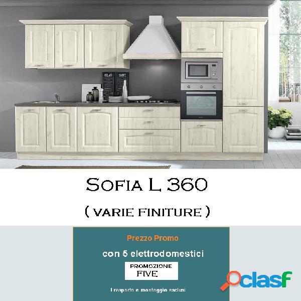 Cucina sofia l 360 five