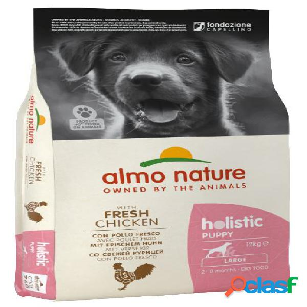 Almo nature cane holistic puppy large pollo riso kg 12