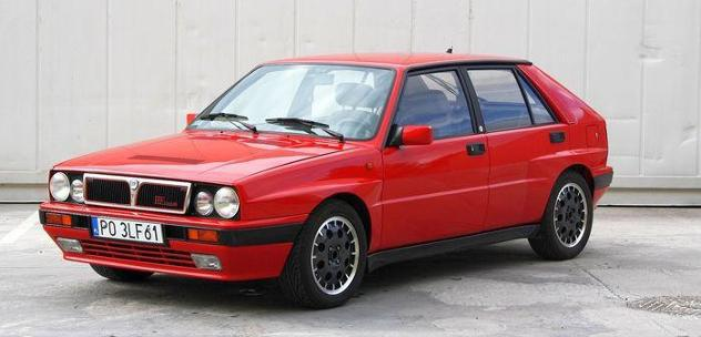 Lancia - delta integrale hf turbo 8v - 1988
