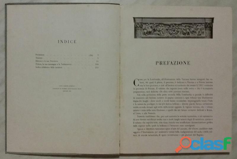 TOSCANA PARTE PRIMA.VOLUME QUINTO ED.TOURING CLUB ITALIANO 1934 OTTIMO 2