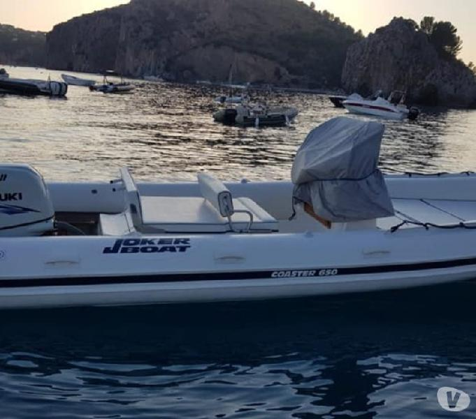 Gommone coaster 650 cv175 4t suzuki full white
