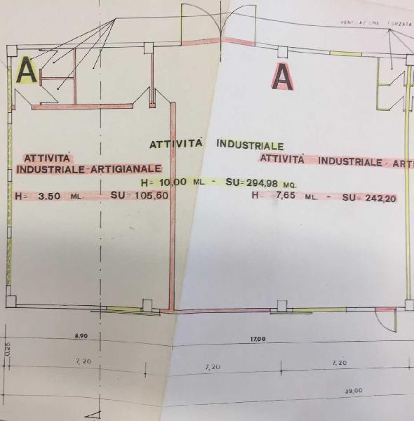Capannone / Fondo - Industriale/Artigianale a Industriale,