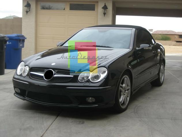 Griglia anteriore mercedes clk 209 calandra look cl nera e