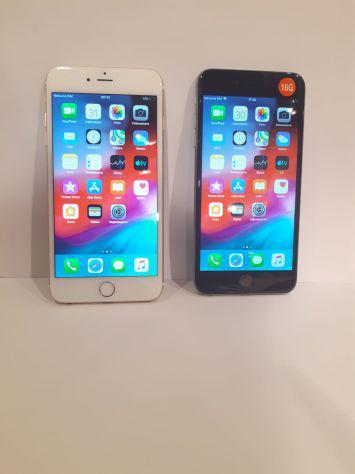 Iphone 6 plus 16gb nero/oro/argento con garanzia 1 anno